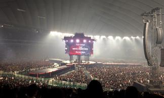 満員の東京ドーム